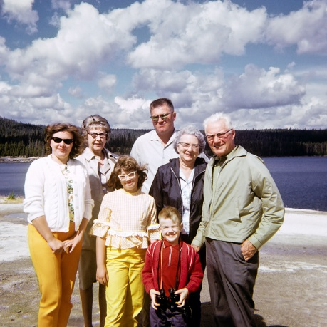 Family outing in Yellowstone