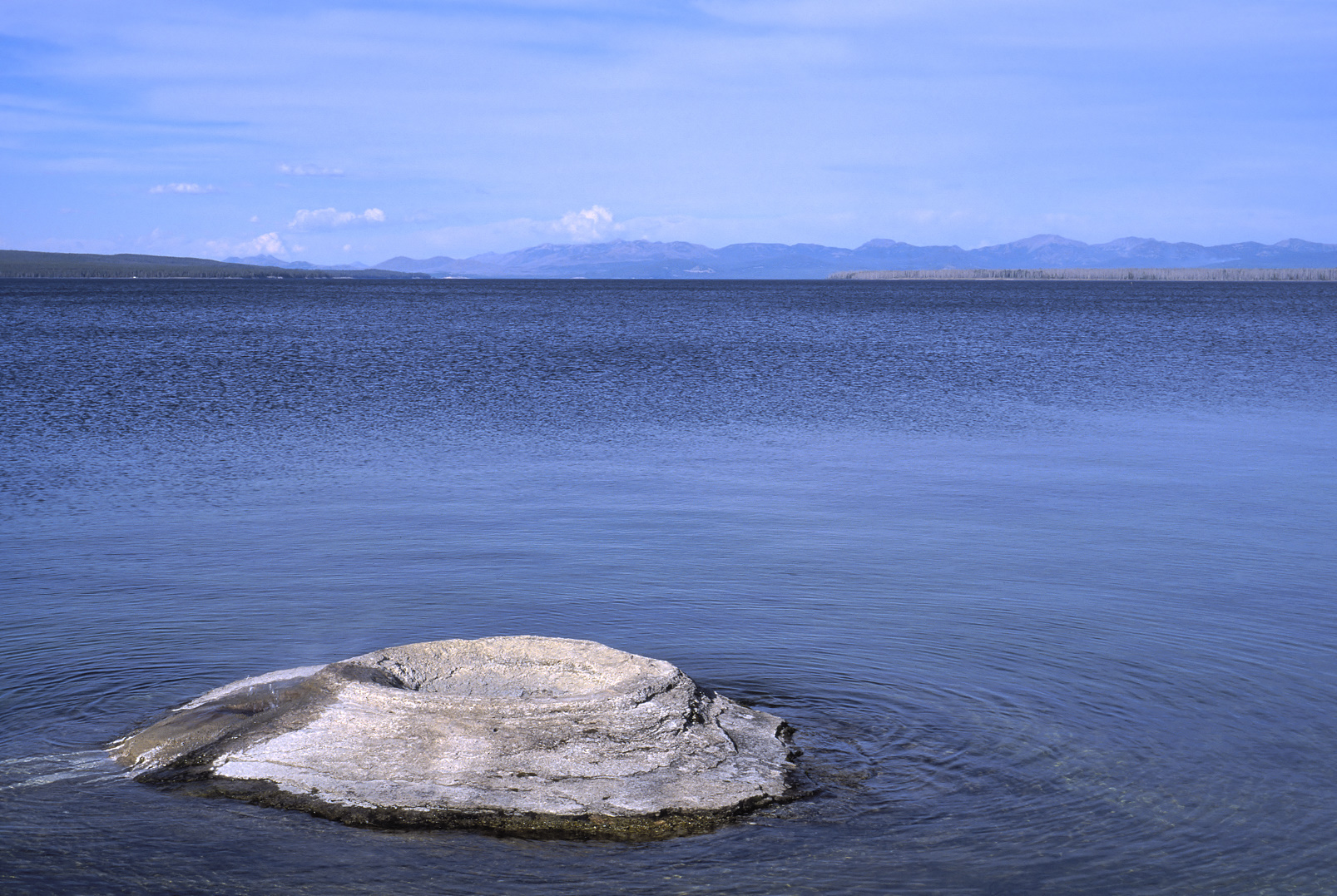 View of Yellowstone Lake from West Thumb.
