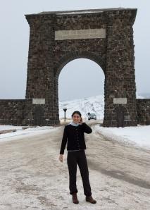 Mali by the Yellowstone Roosevelt Gate