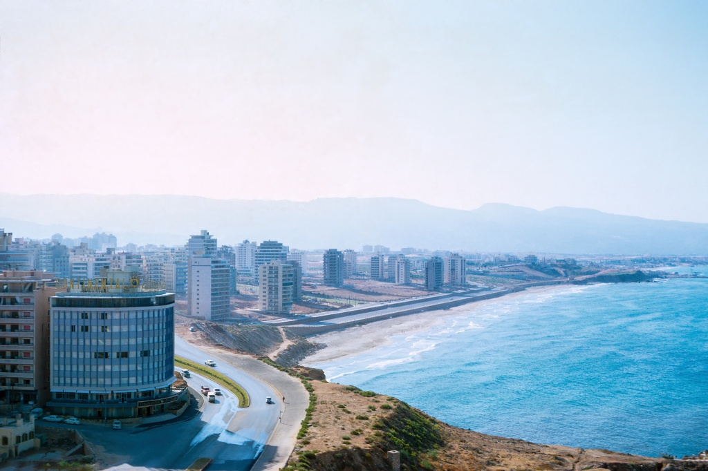 I am still exploring the Affinity Photo image editor. I used it to restore this scan of a Kodachrome slide my father shot from a hotel window of the south coast of Beirut Lebanon in 1968. The Continental Hotel is visible in the lower left corner of this image. My mother often stayed in the Continental when she visited me in Beirut. I fondly remember having continental breakfast in the Continental. The original slide was overexposed and covered with splotches and sky fingerprints. The retouching tools in Affinity Photo are better than corresponding tools in Photoshop Elements. I particularly like the Affinity inpainting brush; it works well on textured and linear subjects. I was able to remove long scratches cutting through the buildings in this image without unduly wreaking building detail. I also used the inpainting tool to remove a cutoff street light and a car it was shading on the bottom of the image. It's easier to remove objects with Affinity Photo than it is in Photoshop Elements.